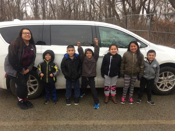 Van with kids 2