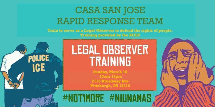 Legal Observer Training